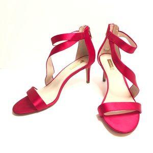Louise Et Cie Red Satin Heels 10M